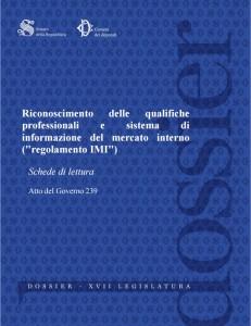 dossier riconoscimento qualifiche professionali